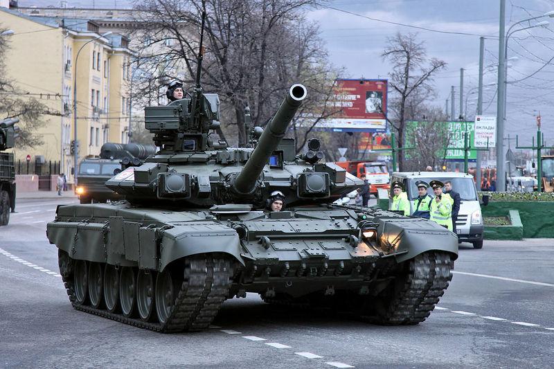 Si aciertas ésta, eres un pro... ¿De cuánto es el cañón de este T-90?