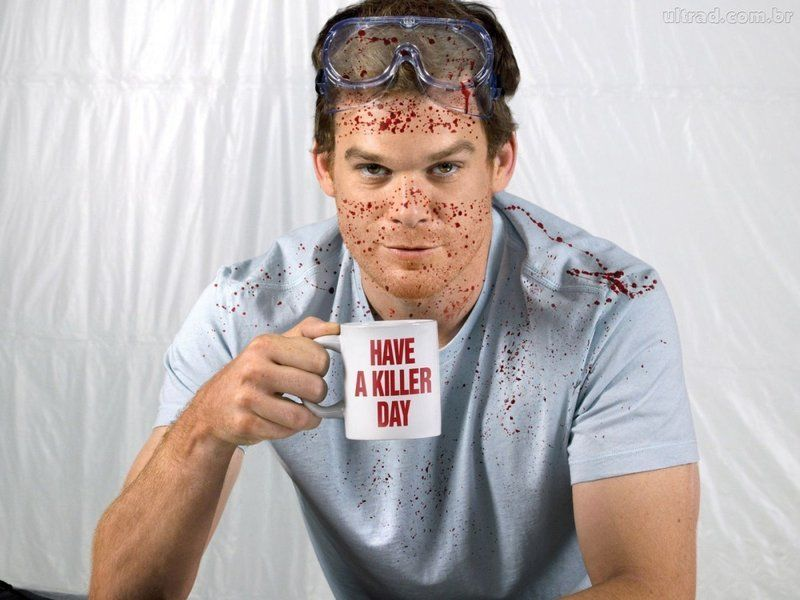 ¿De qué color eran los guantes de Dexter? (El de la foto es el de mayor o no...)