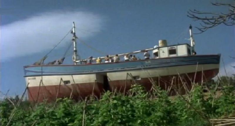 ¿Cómo se llamaba el barco donde vivía Chanquete?