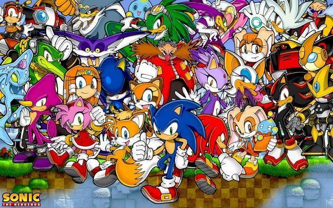 31372 - ¿Qué personajes de Sonic conoces?