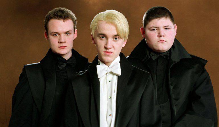 ¿Cuál es el nombre completo de los amigos de Draco Malfoy?