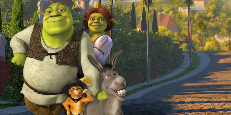 Pasemos a las animadas. Shrek 2 (Original: Shrek)