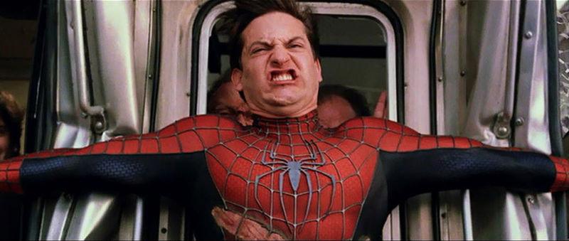 Ahora con las de super héroes. Spider-Man 2 (Original: Spider-Man)