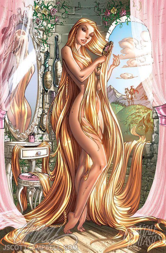 ¿Qué ocurre cuando el príncipe trepa hasta lo alto de la torre por el cabello de Rapunzel?