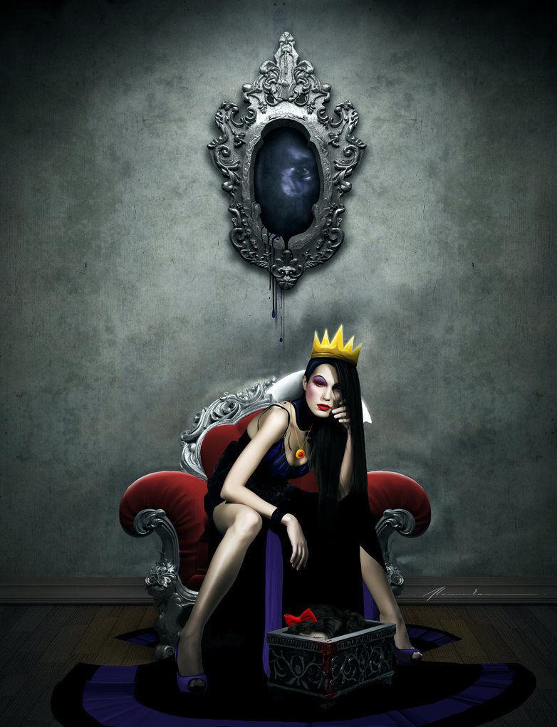 La bella Blancanieves, ¿qué le pide como prueba de la muerte de Blancanieves la malvada madrastra al cazador?