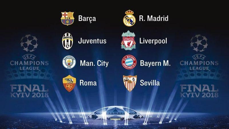 31468 - ¿Quién pasará a las semifinales de la Champions League 2017/2018?