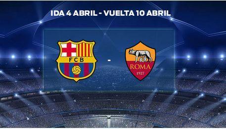¿ F.C. Barcelona- A.S. Roma?
