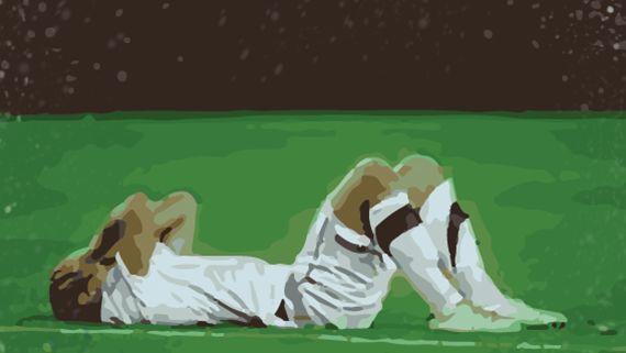 Jugando la final de copa, el único título que te falta. Estáis empatados a falta de 5 minutos. Te han lesionado, ¿qué haces?