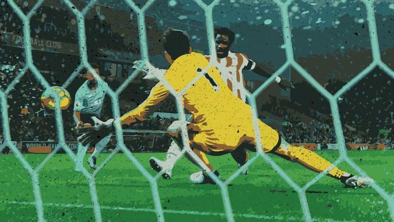Estás en una final y tienes la oportunidad de marcar un gol ganador en el último minuto o pasarla