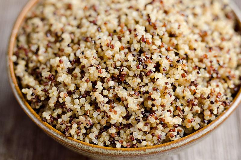¿Consumes quinoa?