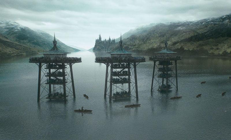 ¿Qué usa Harry en la segunda prueba para respirar debajo del agua?