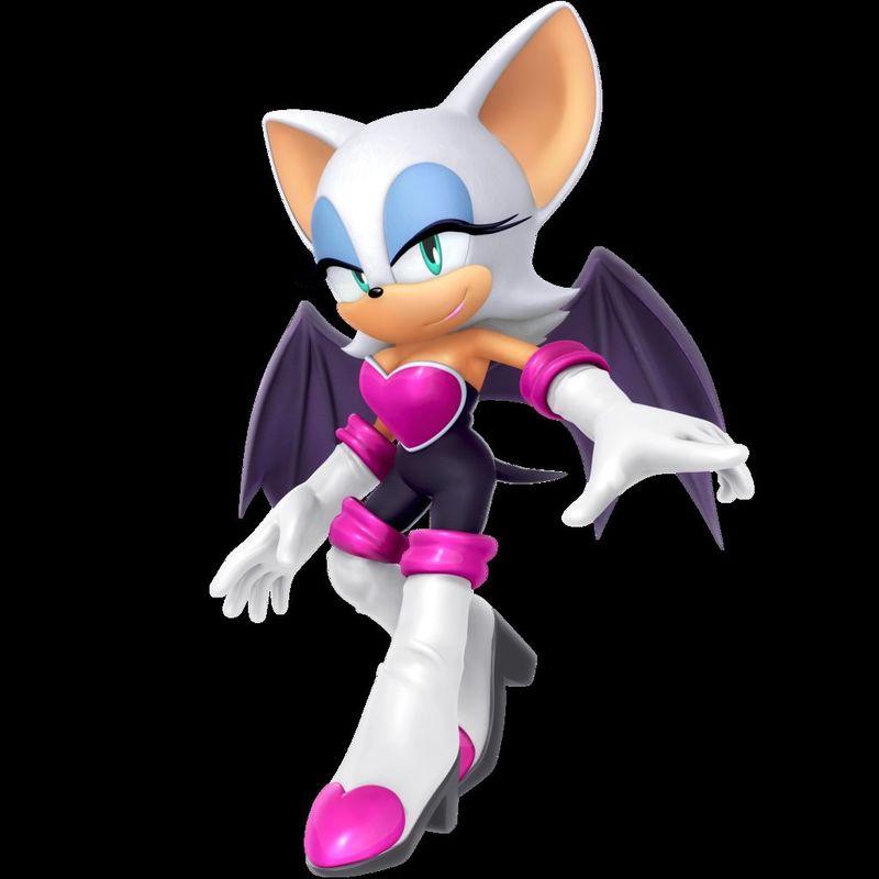 Cazatesoros de Sonic = Rouge. ¿Dobladora en japonés?