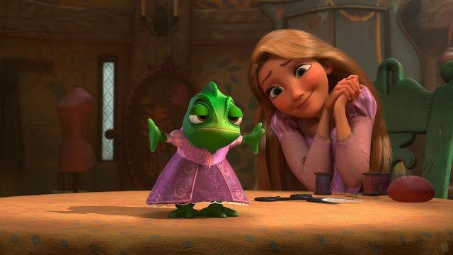 ¿Cuánto tarda Rapunzel en limpiar toda la casa mientras canta