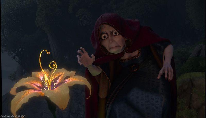 ¿De qué obtenía Madre Gothel el poder de rejuvenecerse antes de raptar a Rapunzel?