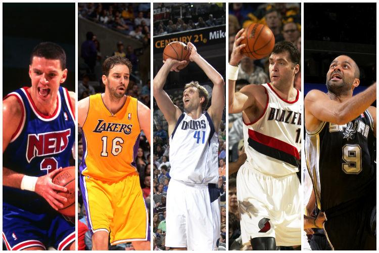¿Cuál es el jugador europeo con más puntos en la historia de la NBA?