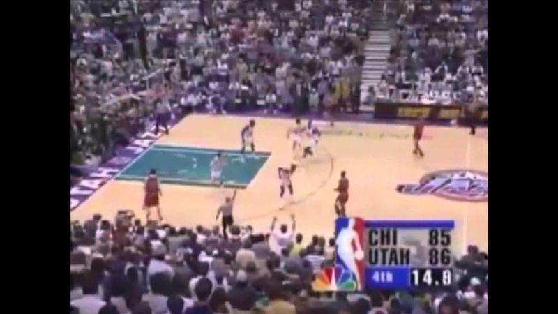 ¿Quién era el defensor de Michael Jordan en la última jugada de las Finales de 1998?