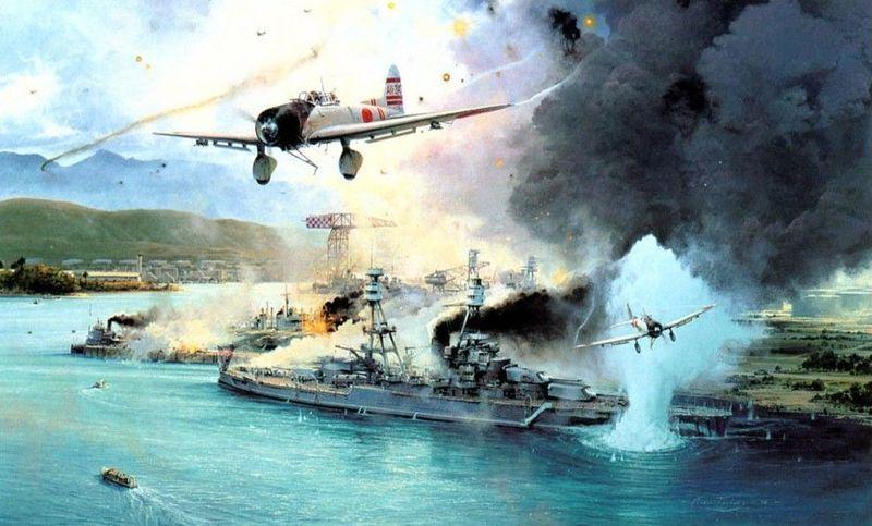 ¿Cuáles son los nombres de los aviones japoneses que participaron en el ataque a Pearl Harbor