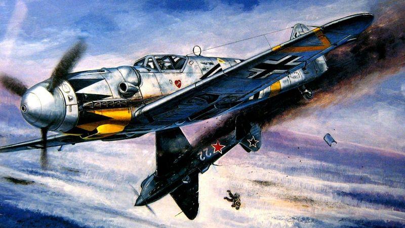 ¿Cuántos cañones y ametralladoras tenían los Messerschmitt BF-109, específicamente los modelos F?