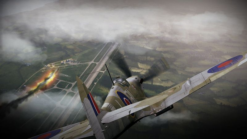 ¿Cuál fue el avión más producido por Inglaterra en la SGM?