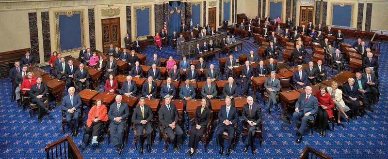 ¿Cuántos senadores hay?