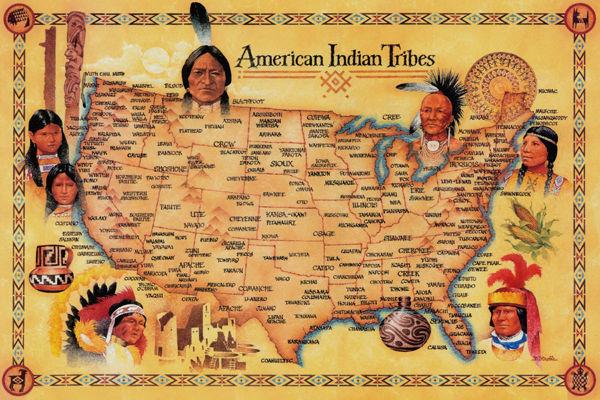 ¿Cuál de estas no es una tribu nativa de Estados Unidos?