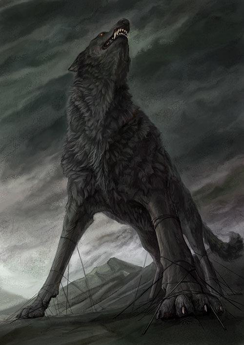 ¿Cómo muere Fenrir en el Ragnarok?