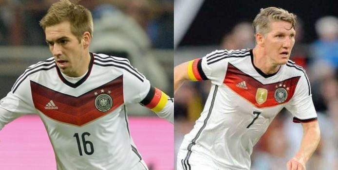 Leyendas de Alemania y del Bayern. ¿Bastian o Philipp?