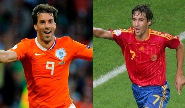 Dos leyendas blancas, dos máquinas de hacer goles. ¿Te quedas con el