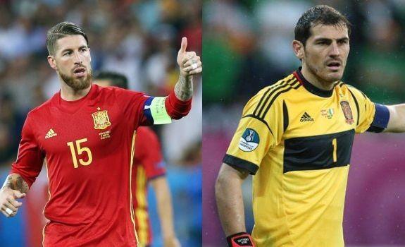 Capitán y ex-capitán de España y el Real Madrid. ¿Con quién te quedas?