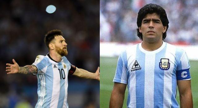De Argentina para el mundo. Los dos más grandes de todos los tiempos. ¿Con quién te quedas?