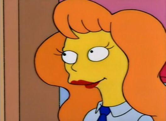 ¿Recuerdas cómo se llama esta compañera de trabajo de Homer?