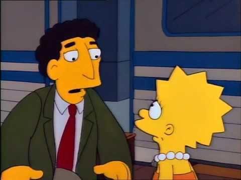 ¿Cómo se llama el maestro sustituto de Lisa?