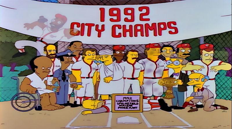 ¿Qué leyenda de la Liga de Béisbol profesional de Estados Unidos sustituye a Homer?