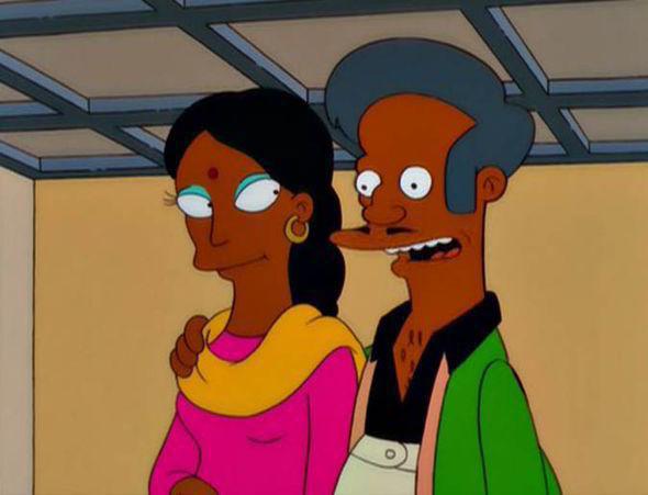 ¿Cuál es el nombre de la esposa de Apu?