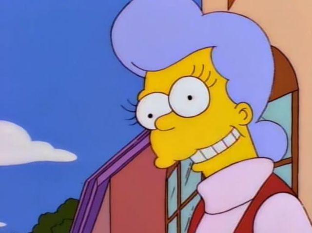 ¿Cómo se llama la madre de Homer?