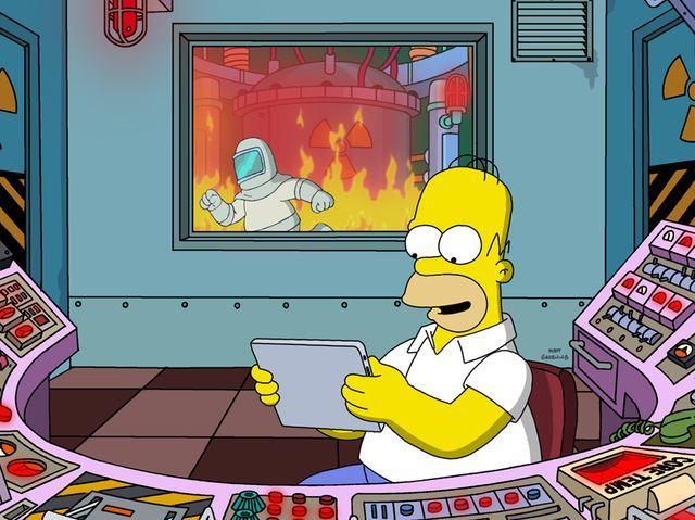 Homer es el único personaje que tiene diálogos en todos los episodios