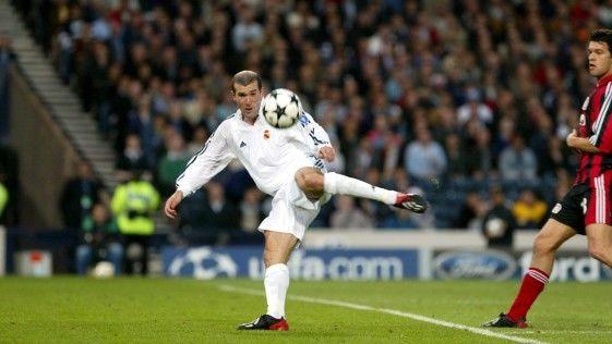 ¿La volea de Zidane?