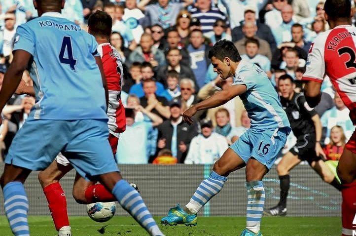 El gol más importante de la historia actual del Manchester City.