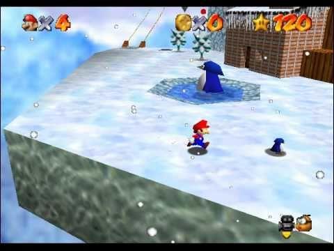 ¿Mataste al pingüino bebé en Super Mario 64?