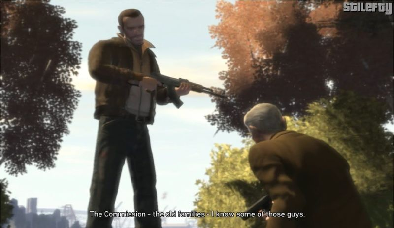 Al final de GTA IV. ¿Hiciste el trato o fuiste por venganza?