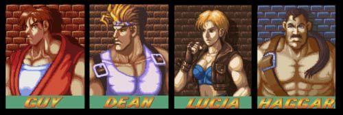 ¿Qué personaje elegías en el Final Fight?