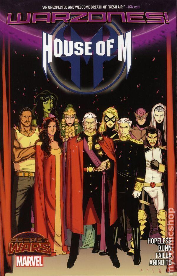 House of M(2005), ¿quién de estos personajes es capaz de acordarse de quien es y de la realidad en la que vive?