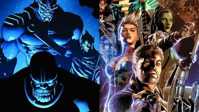 Inifinity(2013) ¿Cuál es la razón de Thanos para ir a la Tierra ?