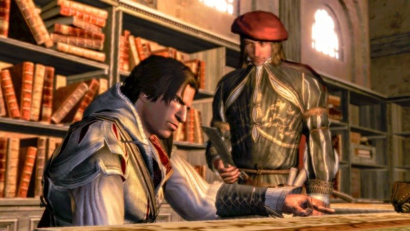 ¿A qué edad le cortan el dedo anular a Ezio?