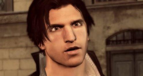 ¿Por qué Ezio tiene esa cicatriz en el labio?
