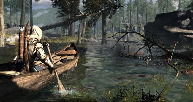¿Qué juego de la saga introdujo por primera vez la mecánica de navegar en canoas?