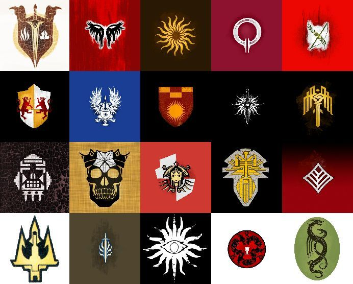 21319 - Dragon Age - Escudos, blasones e insignias de Thedas