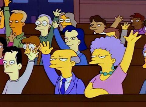 ¿Porqué están levantando todos la mano?