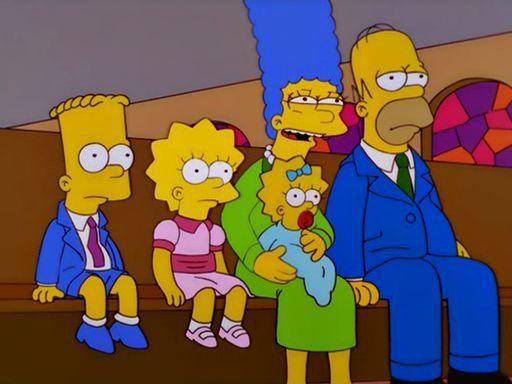 ¿Qué está viendo Marge en esta escena?