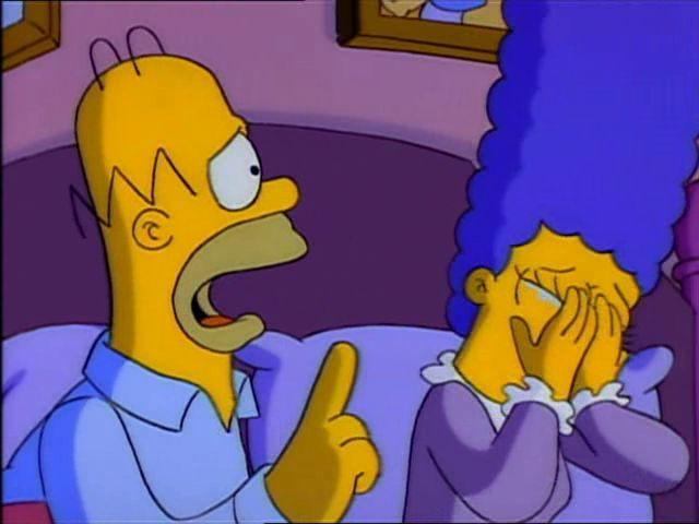 ¿Por qué llora Marge en esta escena?